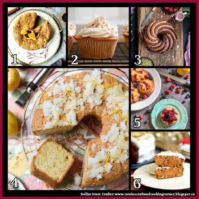 6 Delicious Cake Recipes