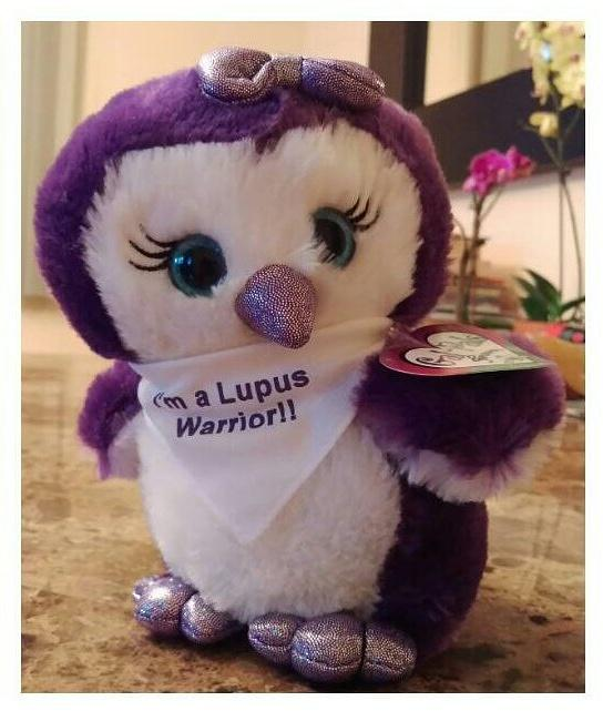 I'm  Elizabeth from NJ. Co-host of #LupusChat  My daughter is a #LupusWarrior We will celebrating #WorldLupusDay  by rocking 💜✋ our purple https://t.co/Z8i5We7mWa