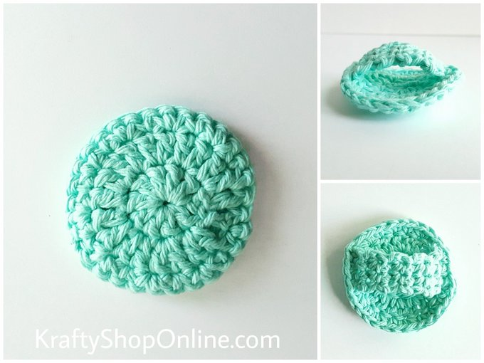 Seabreeze Face Scrubbies With Handles