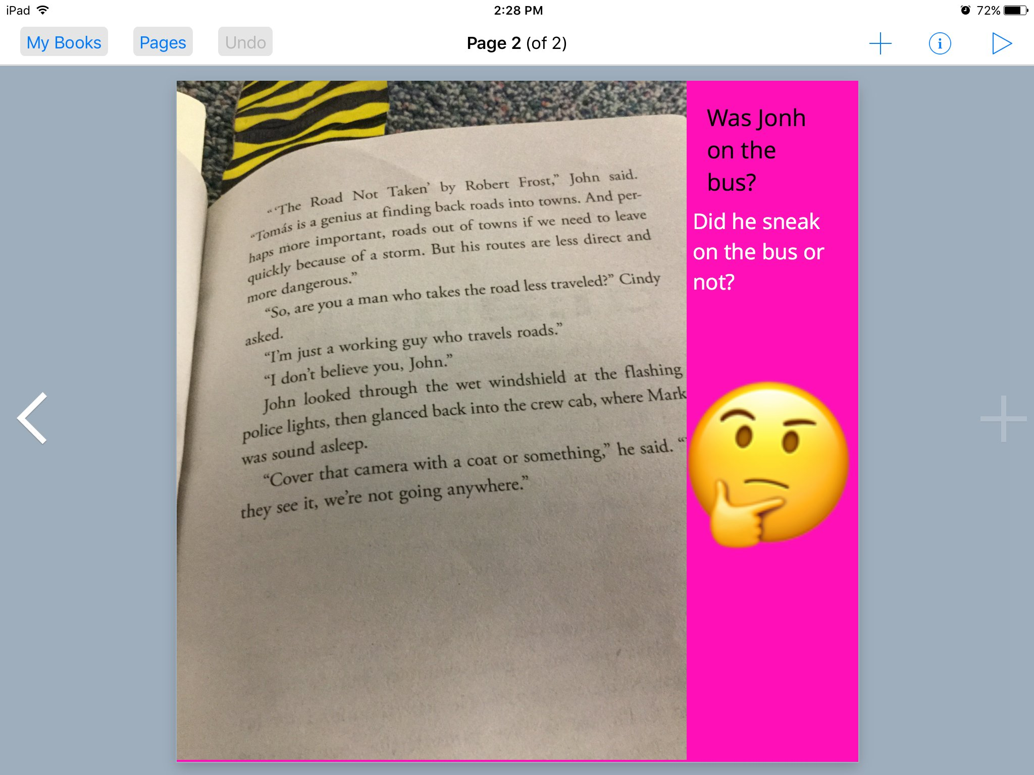 #booksnapswk2 #booksnaps KT_4Vo sharing Storm Runners by @rolandCSmith @kerrvand #betl https://t.co/goh2AkcugZ