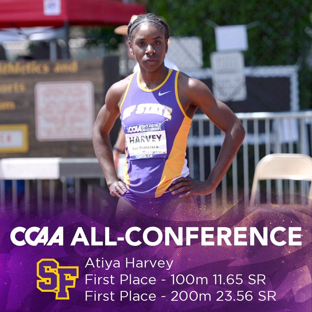 San Francisco State Athletics On Twitter We Had 14 All Ccaa