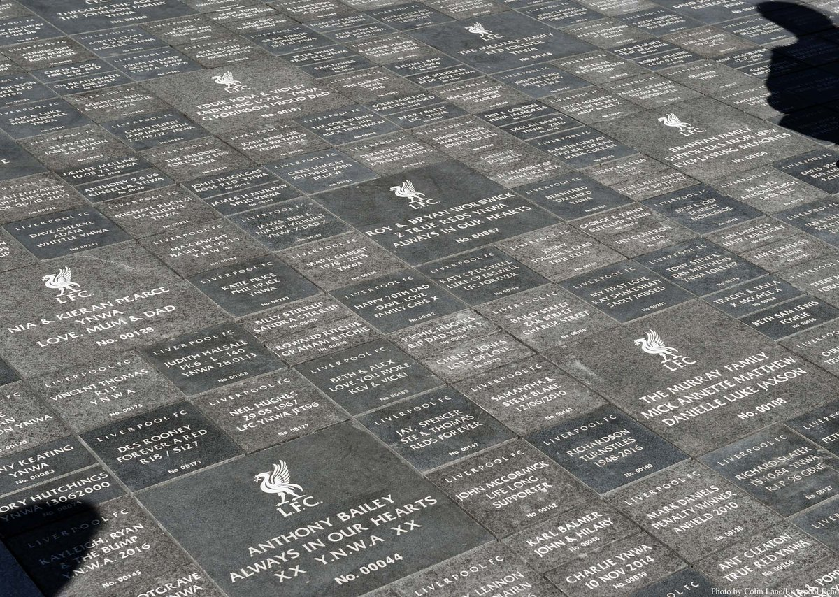 """Colin Lane On Twitter: """"Liverpool's Special Walkway Of"""