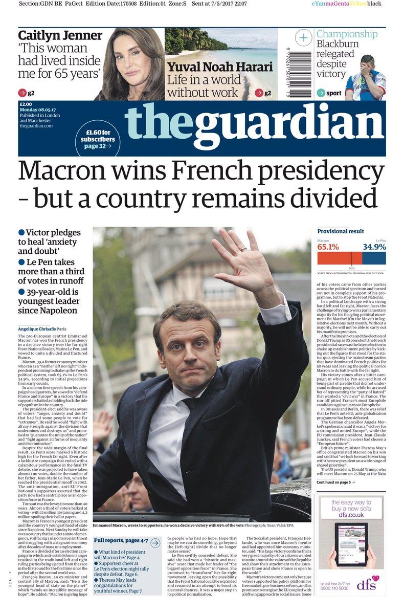 France elections 2017 live - Neil Henderson Hendopolis