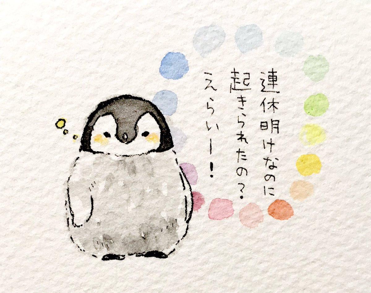 るるてあ On Twitter 肯定ペンギンのあかちゃん その21