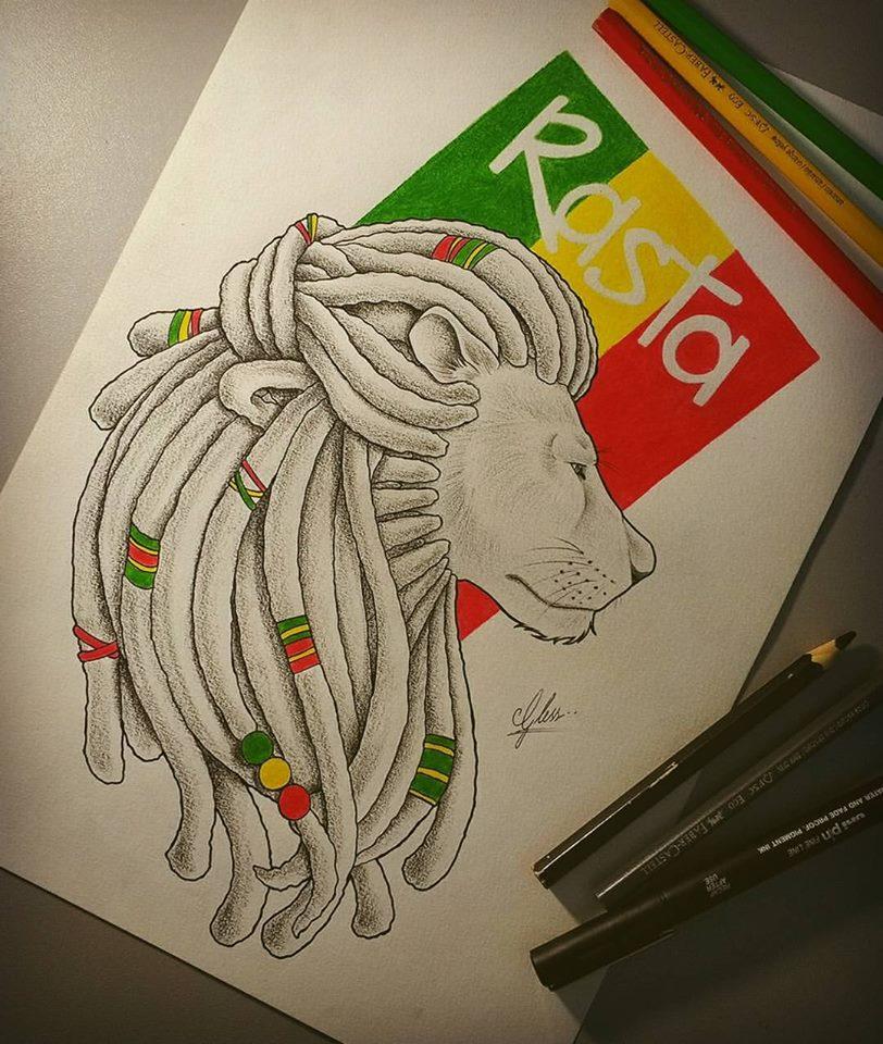 Tattoo Design Reggae Tattoo Oblečenie značky lion paw je zamerané prevažne na army/ military štýl s prvkami rastafari a reggae. tattoo design reggae tattoo