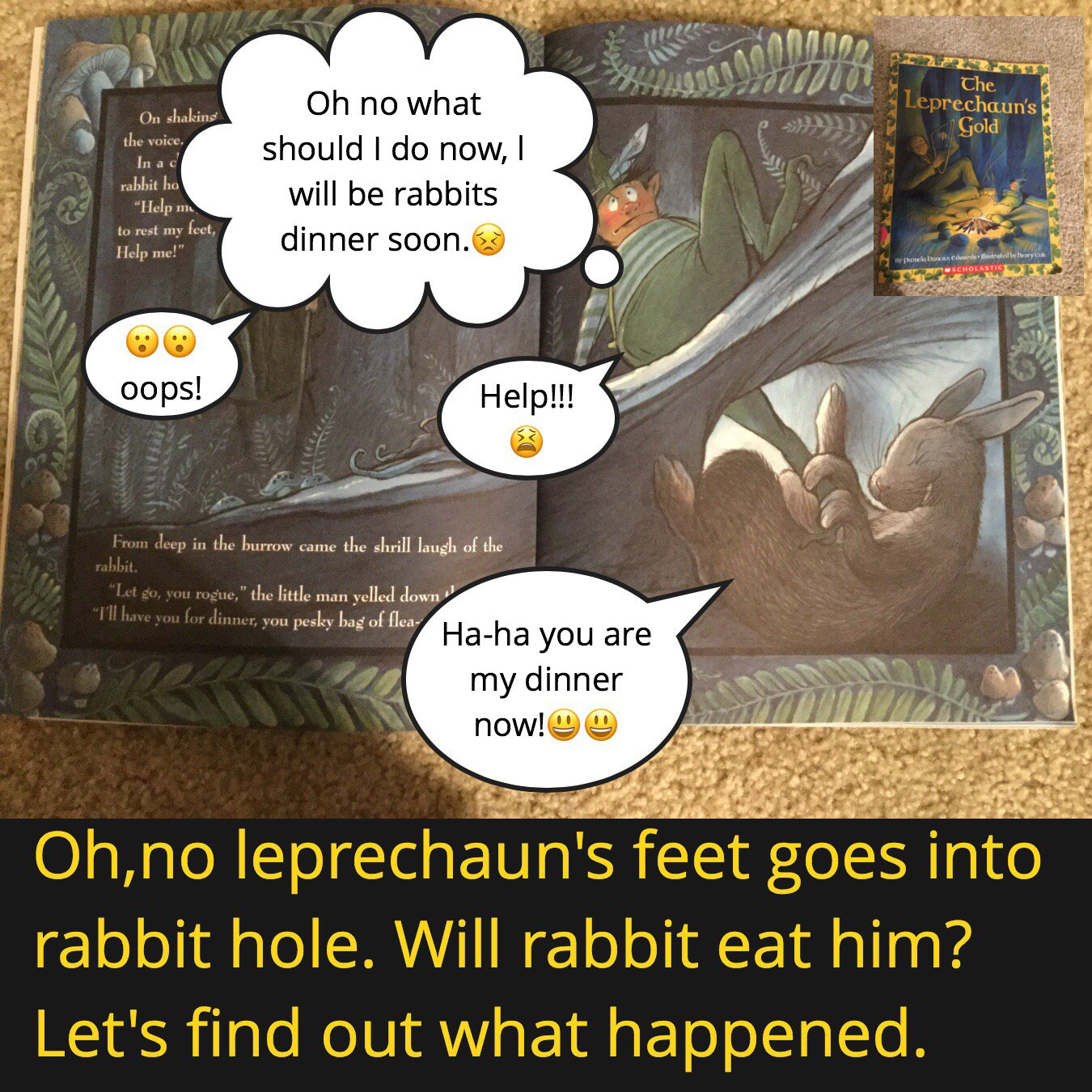 #booksnapswk2 #booksnaps MK_3S sharing The Leprechaun's Gold @BrookeBsulzmann #betl https://t.co/cHoovBb4KO