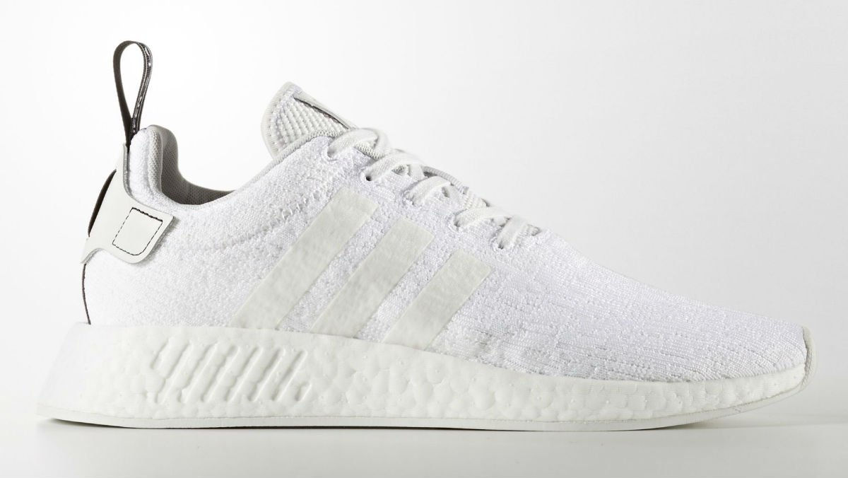 Adidas readies a  Triple White  NMD R2 for summer. https    9f21e2ff9c