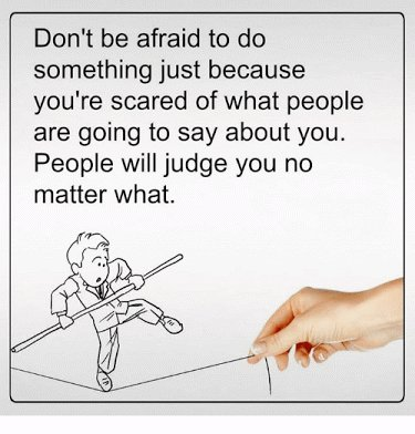Inspirational Quotes On Twitter Dont Be Afraid To Do Something