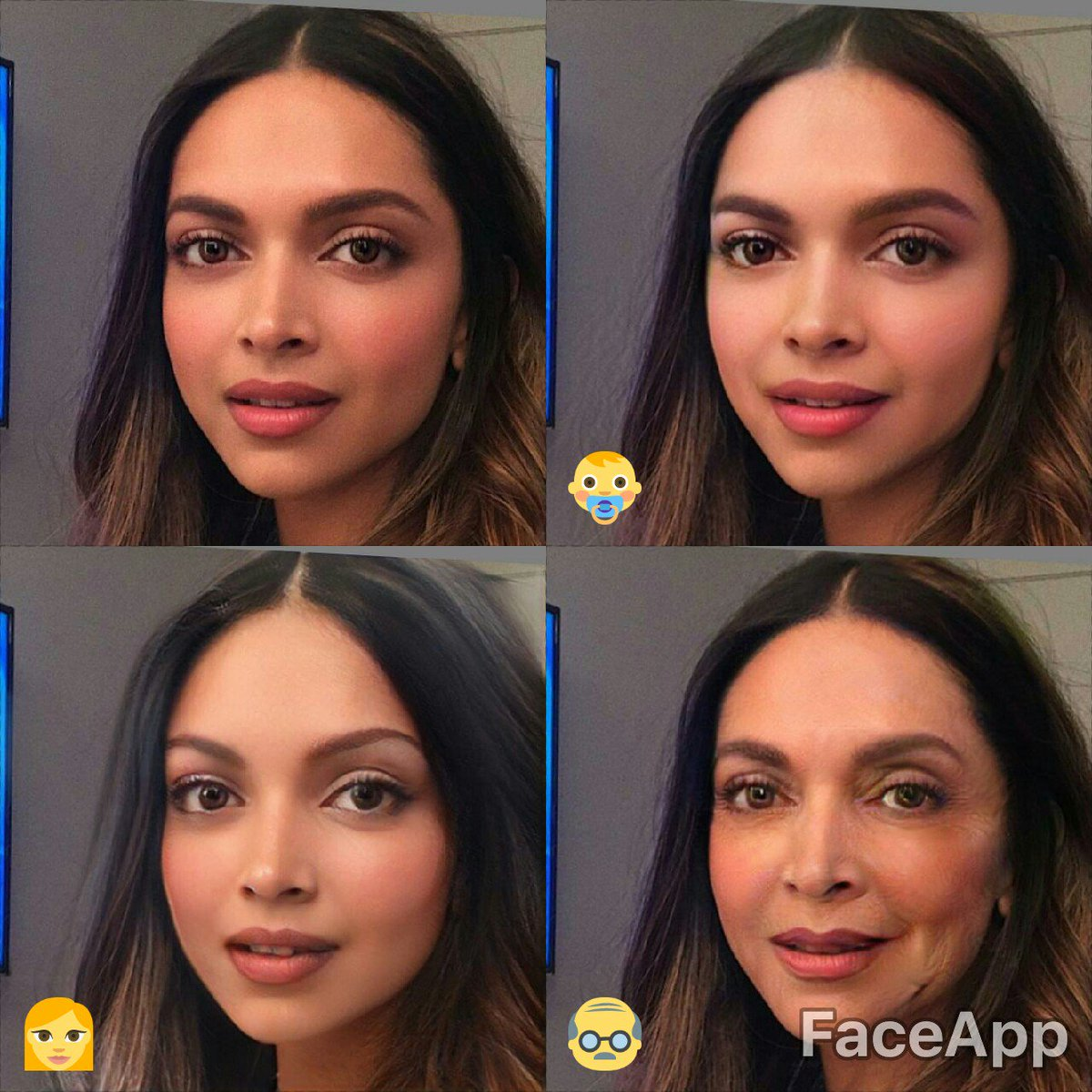 Image result for faceapp deepika