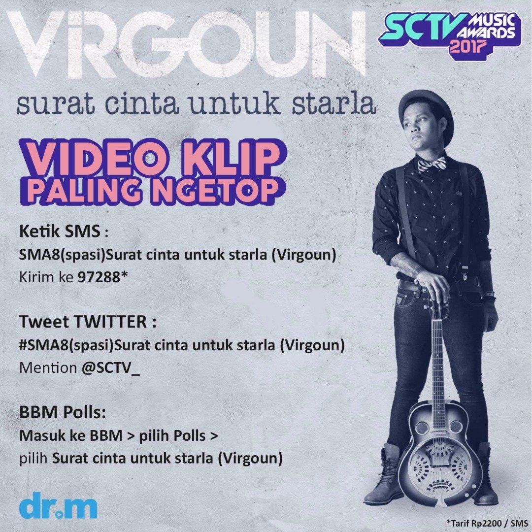 Drm On Twitter Sma8 Surat Cinta Untuk Starla Virgoun