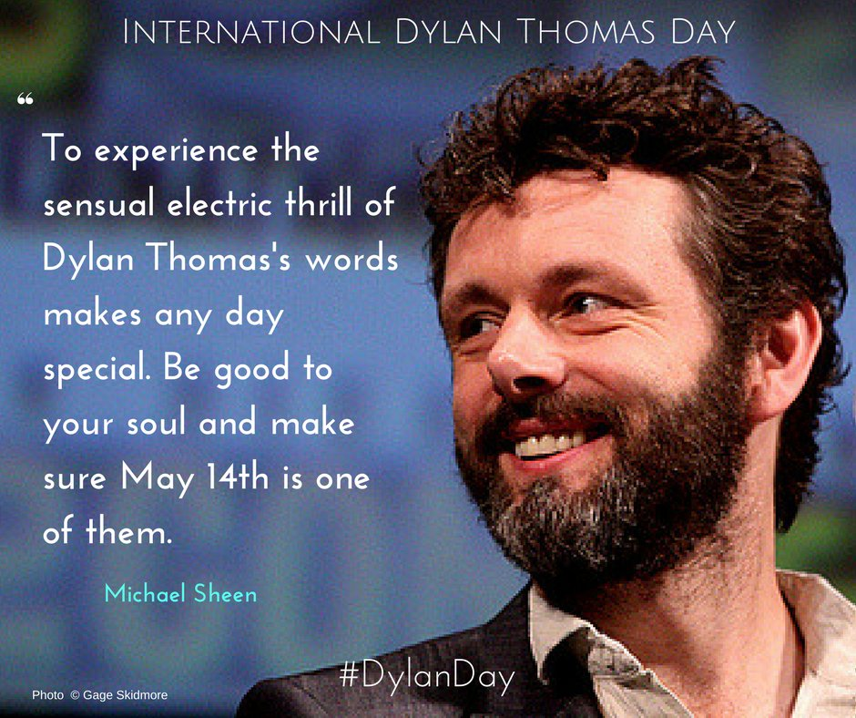 RT @DyddDylanDay: What @michaelsheen said....  #DylanDay https://t.co/kneb6aZFWw