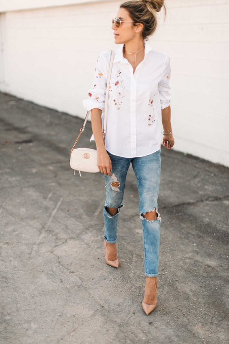 The Floral Statement Top Under $100