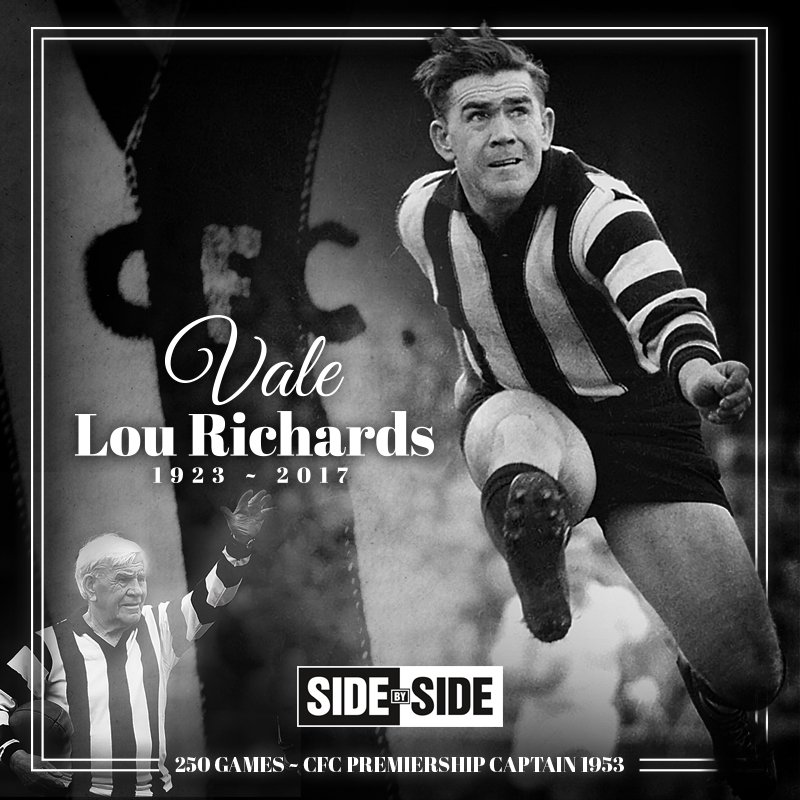 Thumbnail for Social media reacts to Lou Richards' death