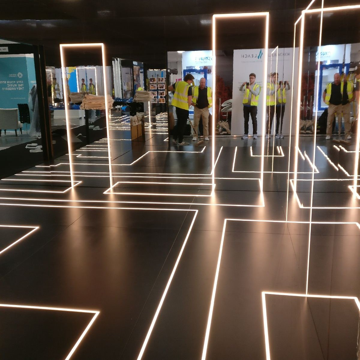 Finishing touches to @RtlDesignExpo stand . Come see us at R28 kensington & Tagra Lighting (@TagraLighting) Twitter Profile u2022 TwiBlue azcodes.com