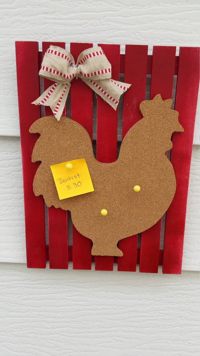 Country Organizer, Rooster Bulletin Board, Country Decor, Rustic Decor  http:// tuppu.net/f8678d6d  &nbsp;   #Etsy #CorkBoard <br>http://pic.twitter.com/06svOa0MiO