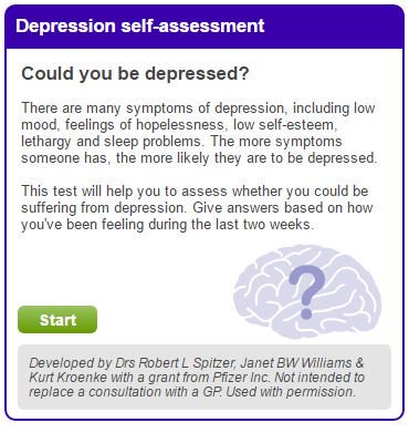 This tool will help you to assess whether you could be suffering from depression: https://t.co/cQfNsTPGrQ #MentalHealthAwarenessWeek