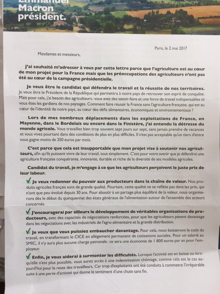 Christophe Grison On Twitter Voici Le Programme Agricole D