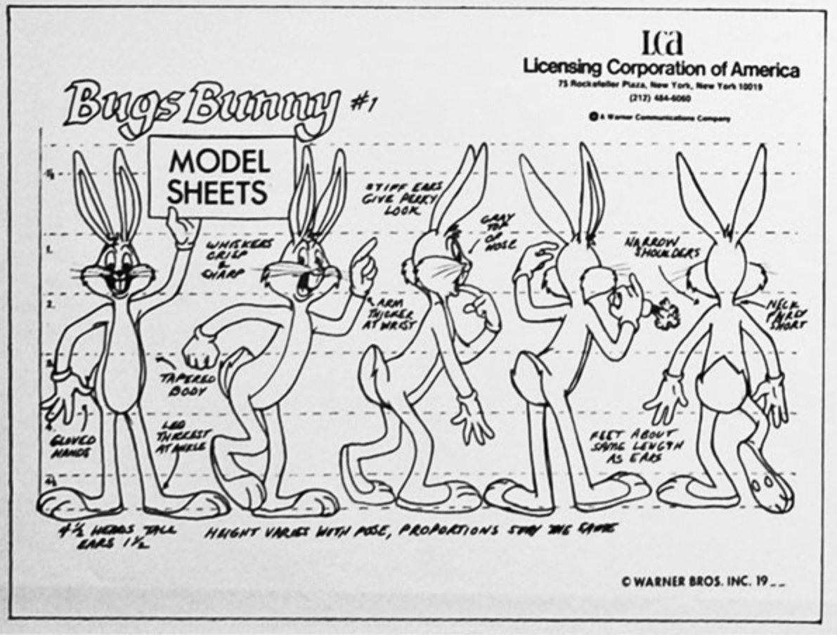 Bugs bunny model