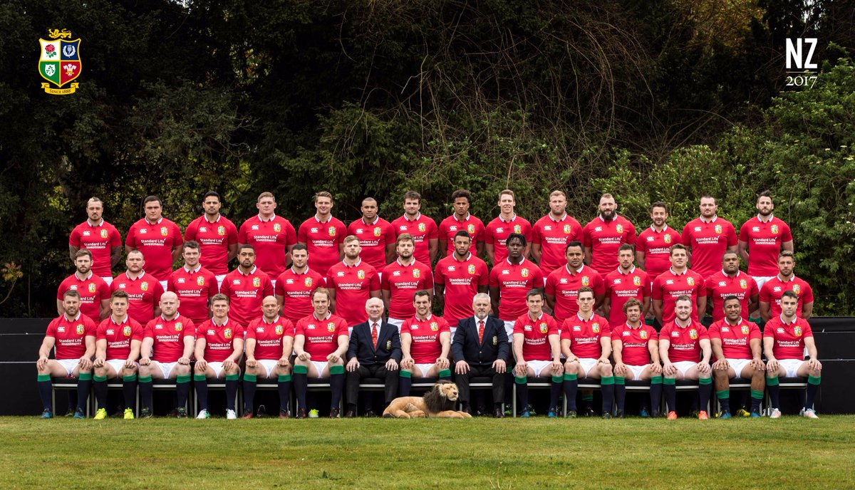 The British & Irish Lions squad for the 2017 Tour to New Zealand!  #AllForOne  #LionsNZ2017