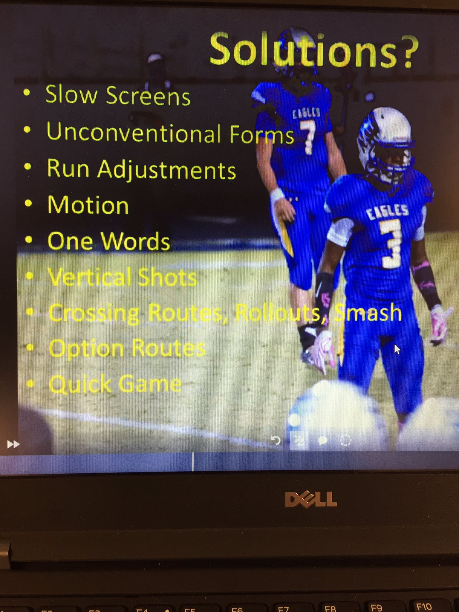 #Cover1BeaterMonday here are our solutions❗️@txhsfbchat @TxConderCoach @1coachtow1n @ITPylon @SpreadOffense @Process2Win @All22ChalkTalk https://t.co/r6PGW1vKTc