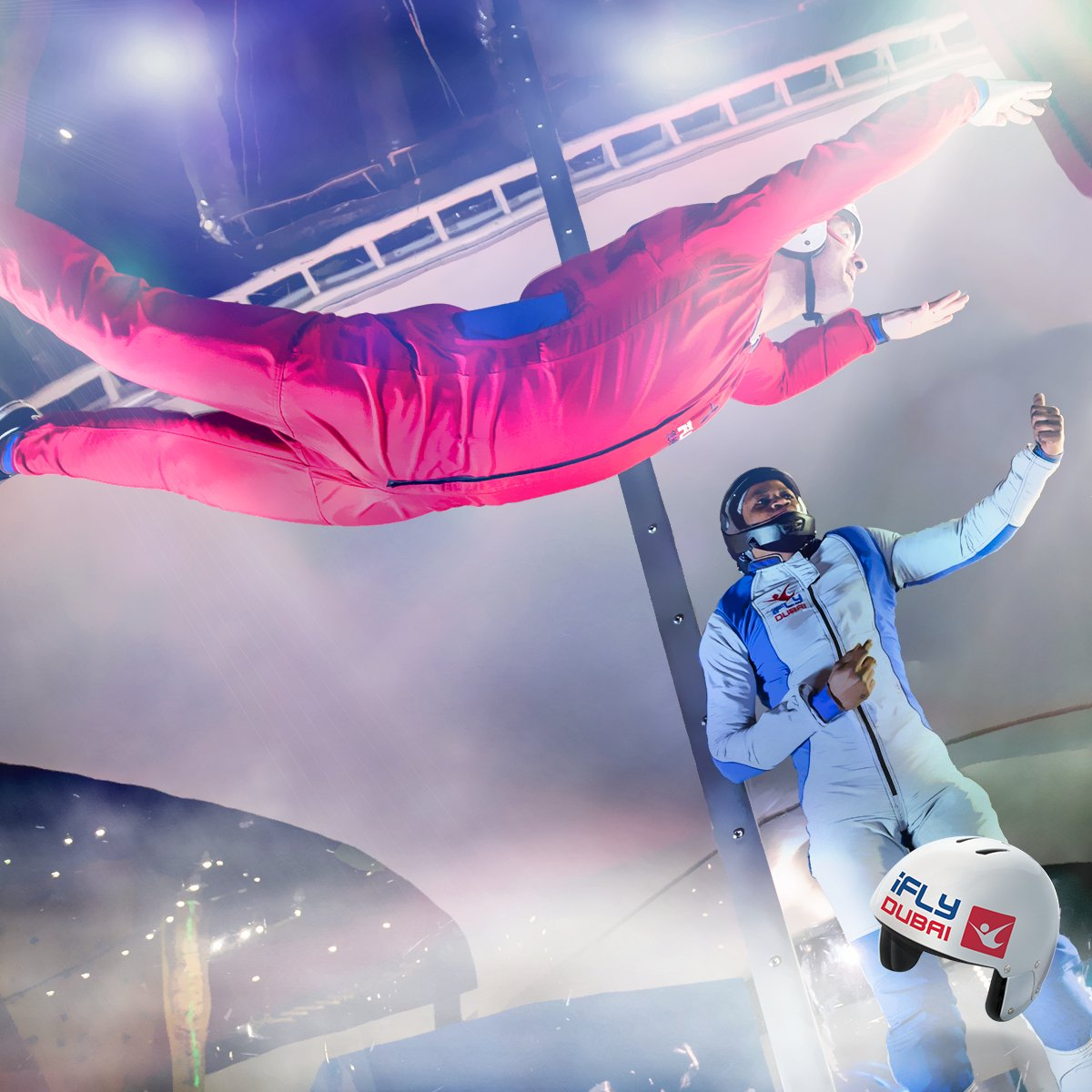 iFLY - UAE's First Indoor Skydiving Experience | The Playmania