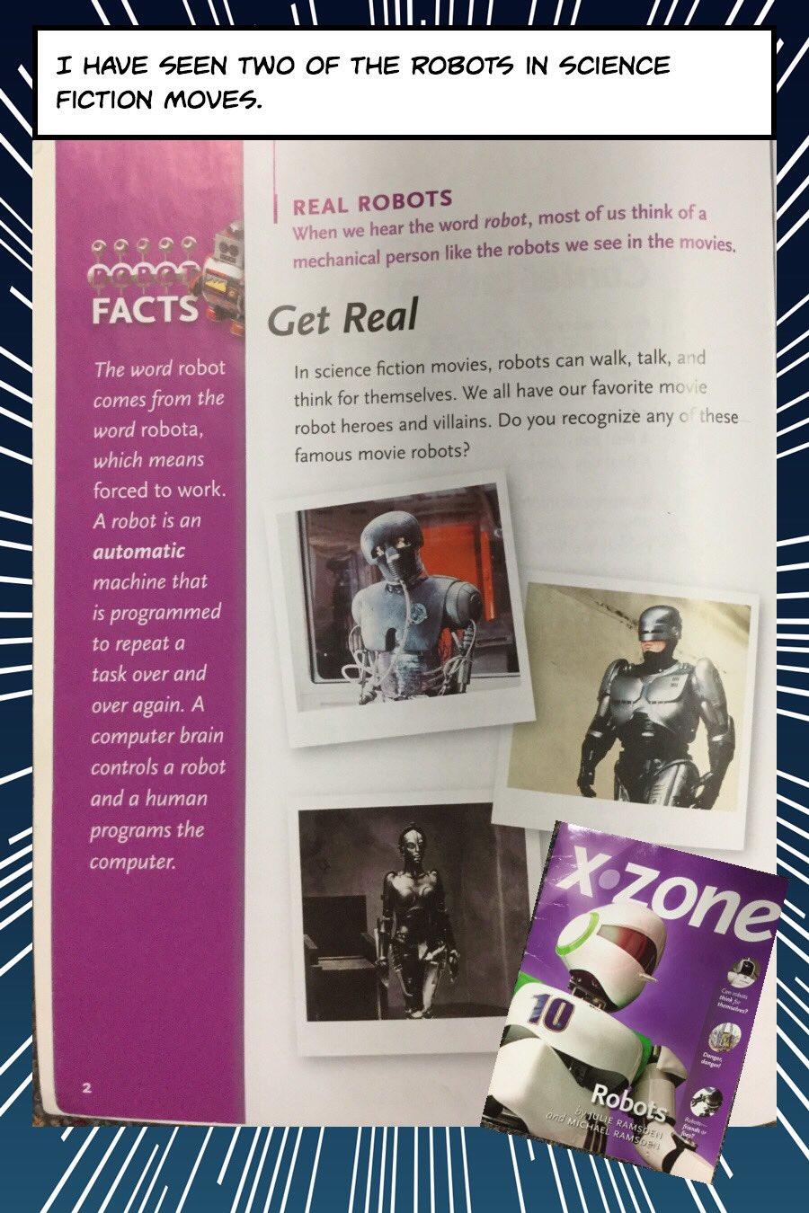 #BookSnapswk2 #bookSnaps LC_3S read XZone Robots @BrookeBsulzmann #betl https://t.co/p1ubYCozLQ
