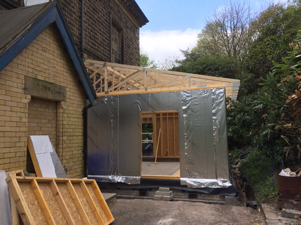 Pennine Timber Frame On Twitter A New Timberframe Kitchen Extension Erected In 2 Days At Rossendale Masonic Hall