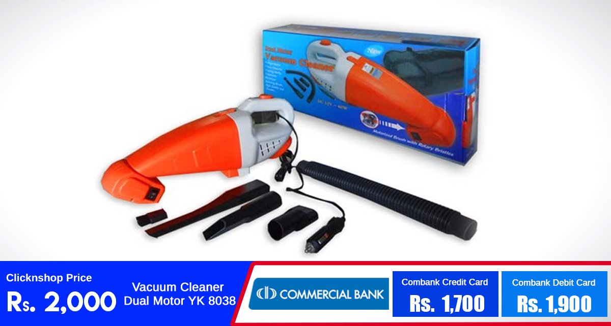 Dual Motor Vacuum Cleaner for just Rs.2000!  Buy Now : https://t.co/cob1OR9X0R… https://t.co/ggV2kfppoB