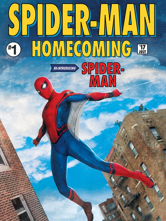 More Spider Man Homecoming Promo Art Features Some