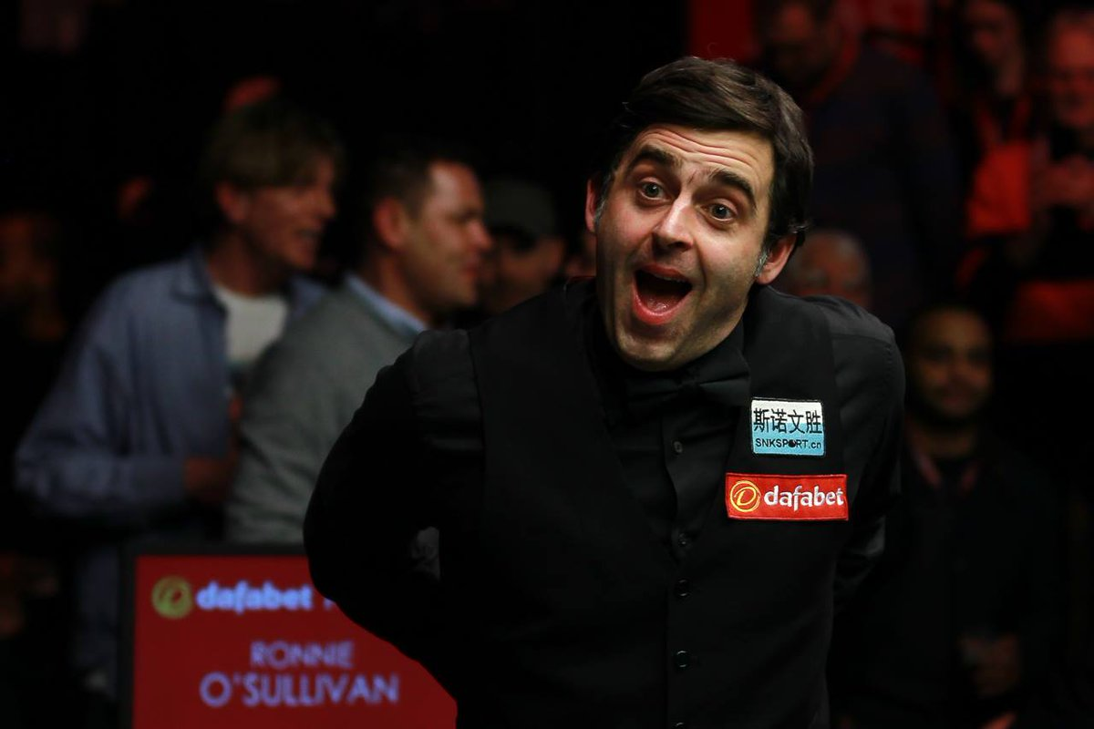 Ronnie's latest 147 break from Friday 6 mins 38 seconds... enjoy @ronnieo147 https://t.co/XleGnWiPFh https://t.co/nv22SgssJN