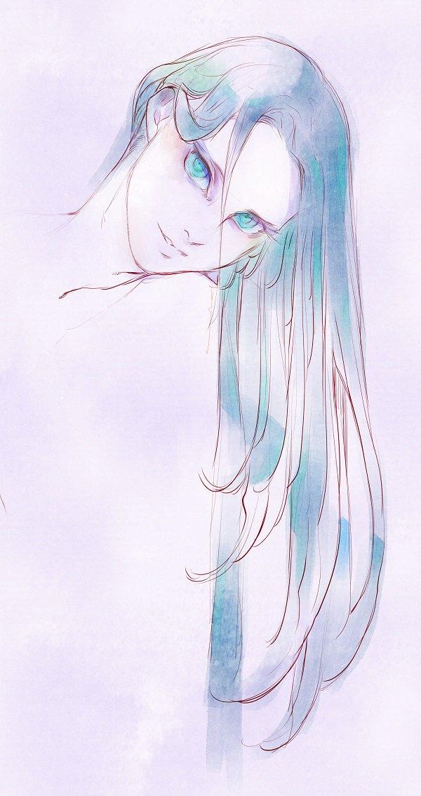 【イラスト】小雲雀。普通にしてれば凄い美人。