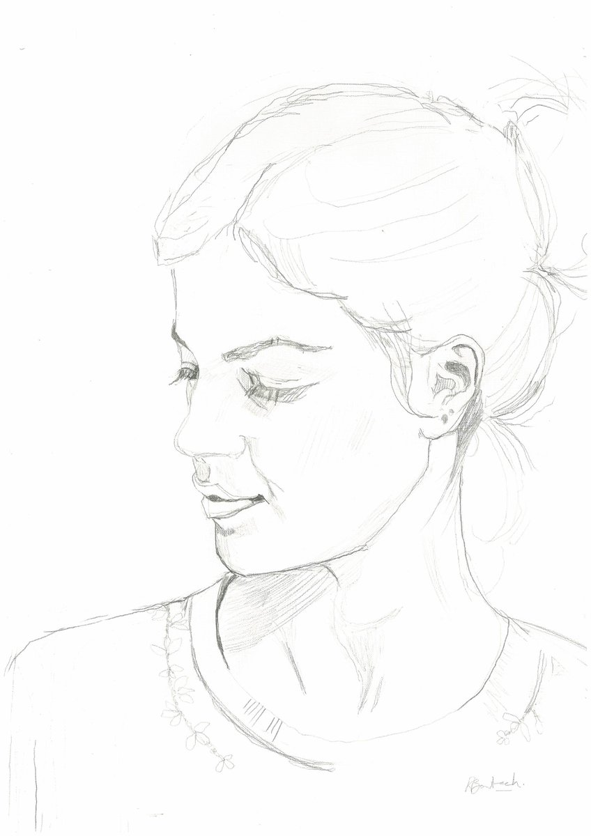 It&#39;s just the beginning #face #portrait #facedrawing #sketch #handdrawn #unfinished<br>http://pic.twitter.com/WbTiyUMYxg