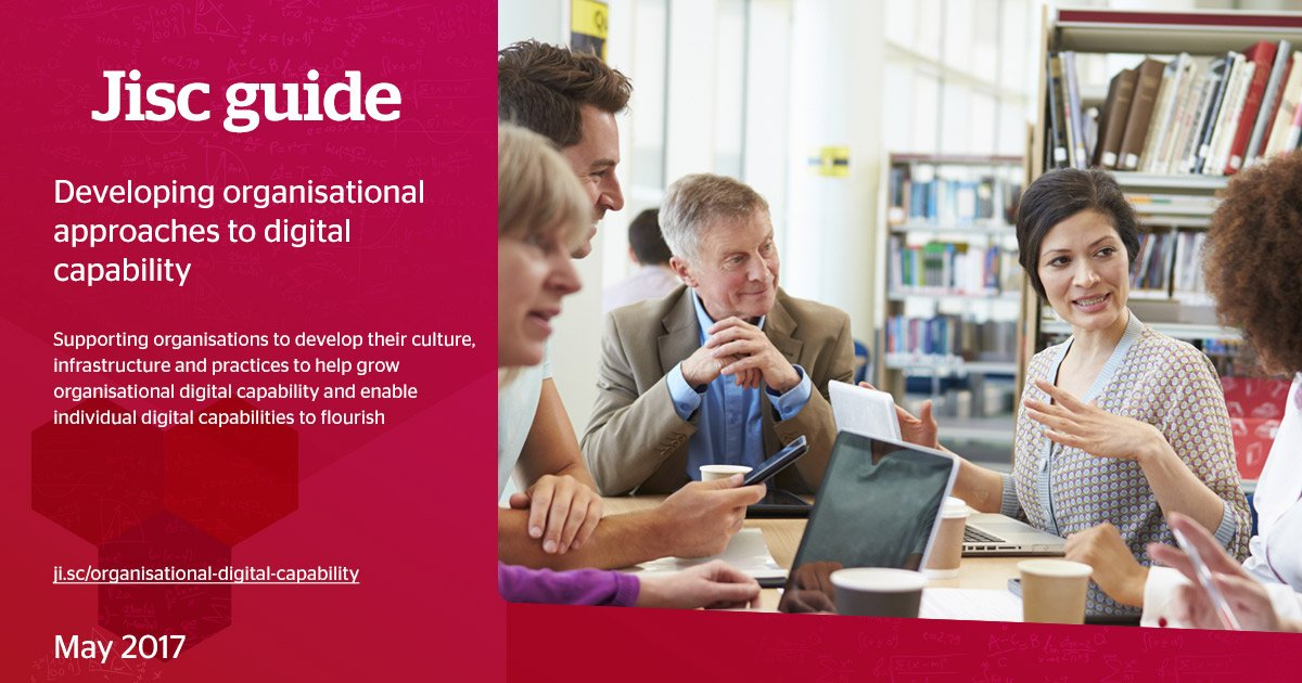 Discover approaches to building #DigitalCapability in your organisation with our latest guide  https://t.co/CSZ34Xt18z #edtech https://t.co/VxcuFInvUa