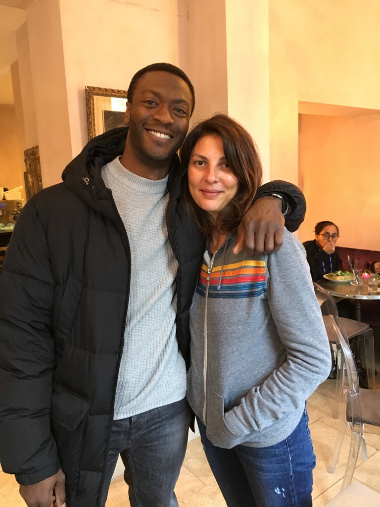 Look who walked into my local cafe today! #damnit Hardison https://t.co/iFQsxsYNB1