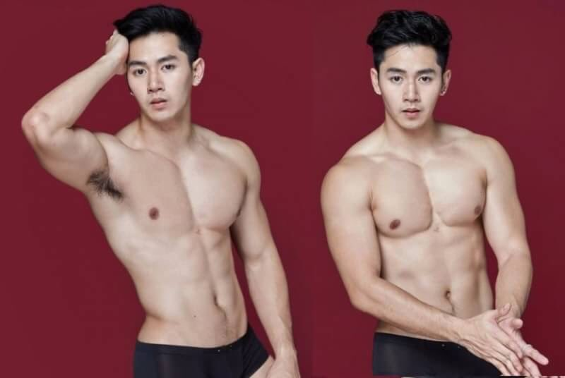 a bunch of hot asian guys