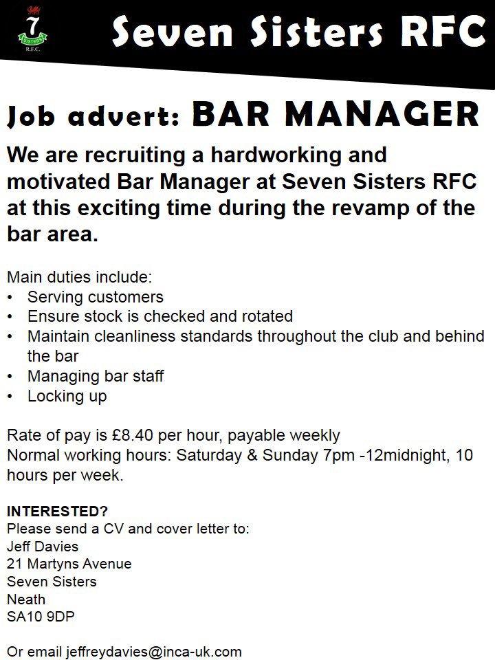 Tolle Bar Manager Job Cv Ideen - Dokumentationsvorlage Beispiel ...