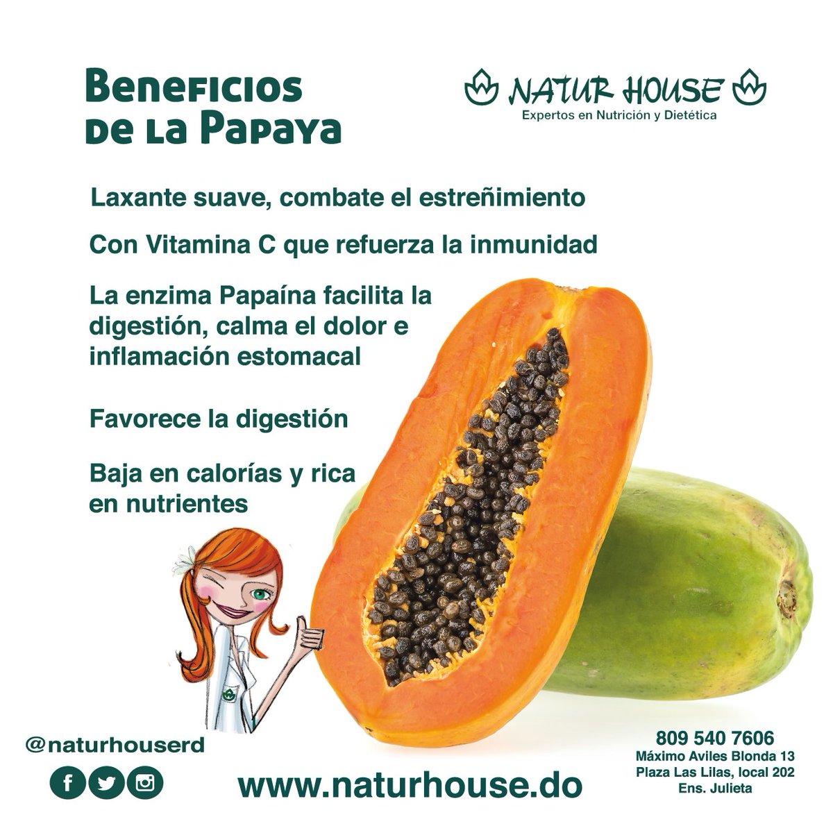 capsulas de papaya naturhouse