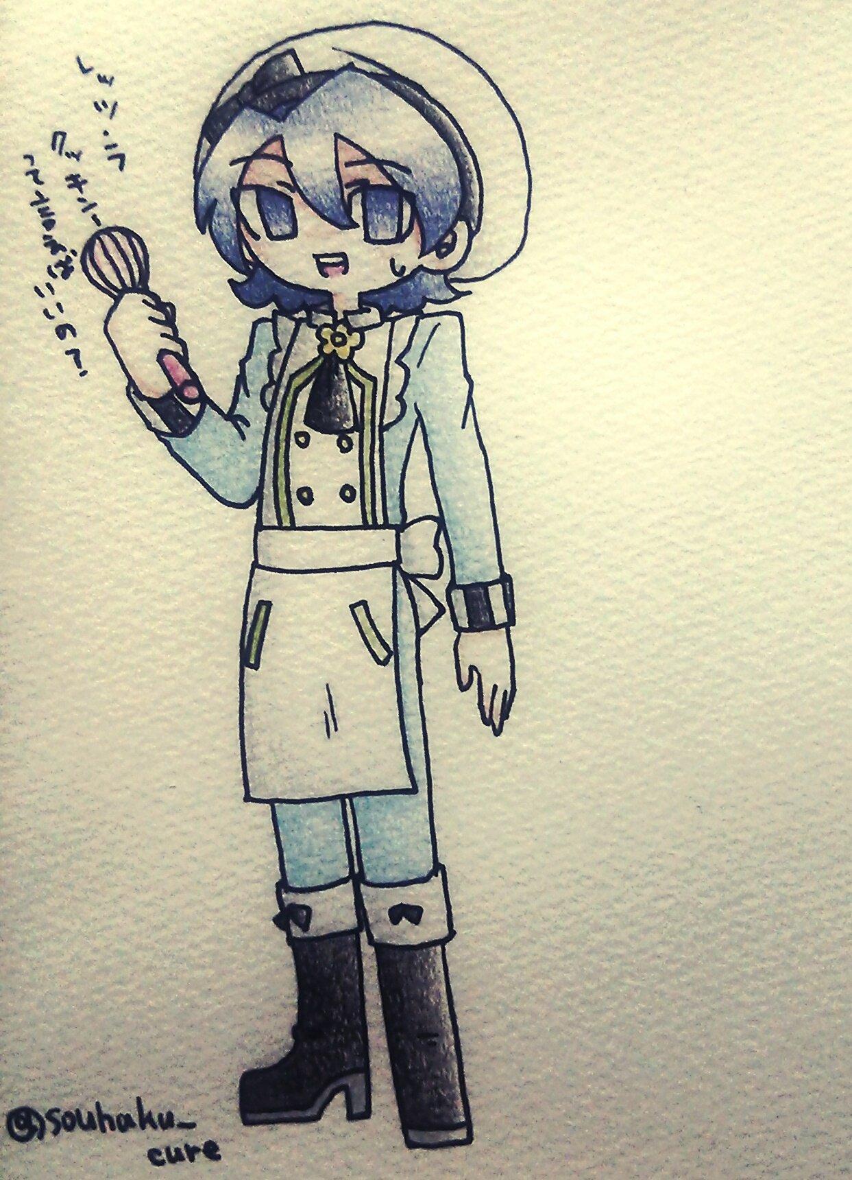 創白水晶🍪キュア垢 (@souhaku_cure)さんのイラスト