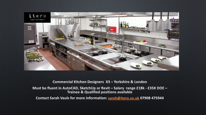 Itero Recruitment on Twitter Commercial Kitchen Designers