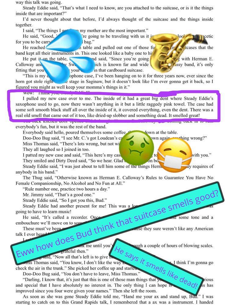 Ss created (@TSGABulldogs CR) #booksnaps for #BudNotBuddy #BooksnapsWk2  #Turner202Strong #tsgabulldogs #roland2023 https://t.co/aZXyaBvqVp