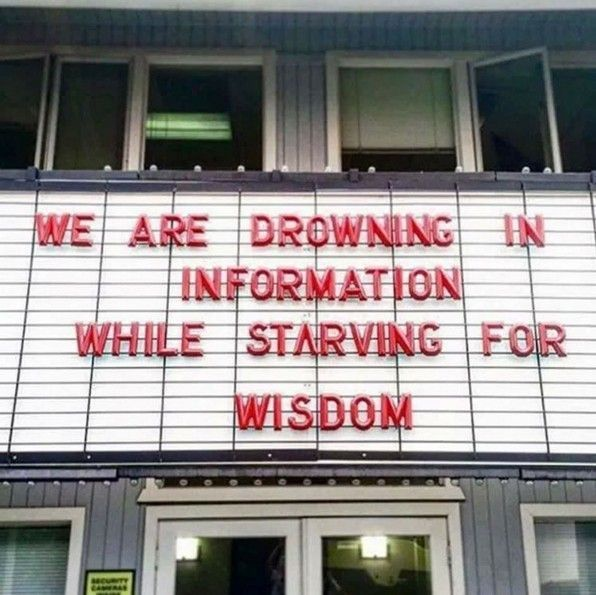 Many have knowledge. Few have true discernment. https://t.co/ybcV9xZUpf |RT @joelcomm via @gary_hensel