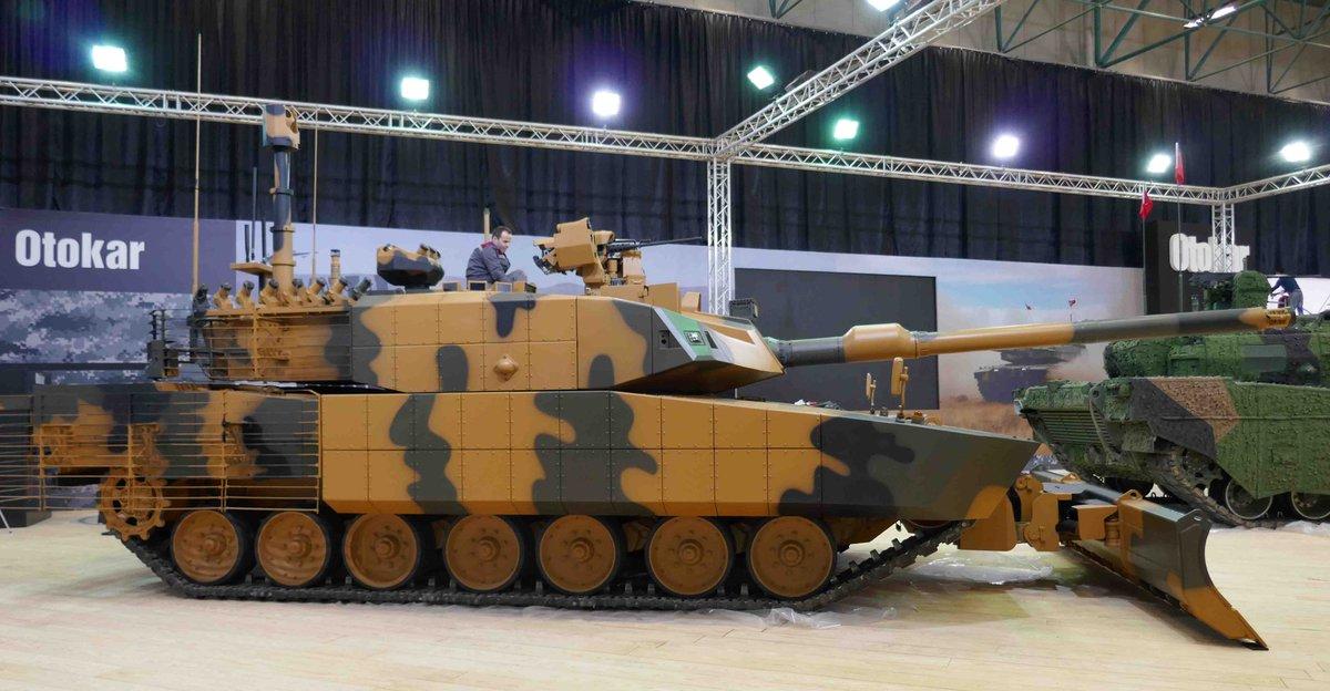 تعرف على نسخه حرب المدن من الدبابه ALTAY : الدبابه ALTAY-AHT التركيه  C_UQ-SgXcAE5LQL