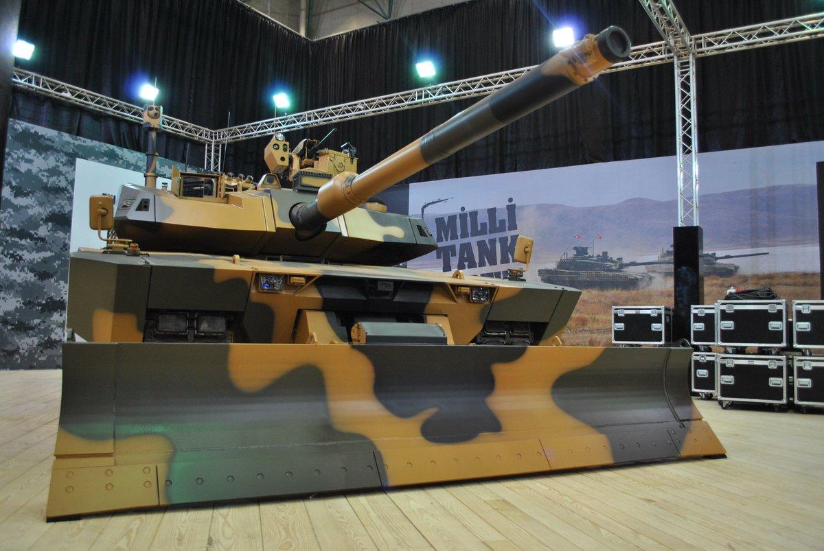 تعرف على نسخه حرب المدن من الدبابه ALTAY : الدبابه ALTAY-AHT التركيه  C_URKu6XsAMLLSf