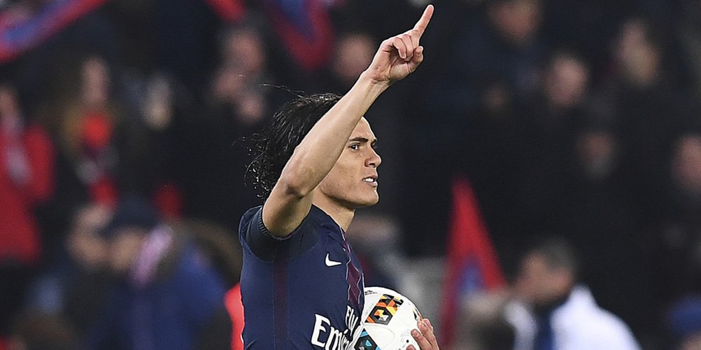 .@ECavaniOfficial has scored 47 goals in 47 matches for @PSG_English in all competitions this season. Well done, #ElMatador! #PSGSCB #Ligue1<br>http://pic.twitter.com/HqElewkQBJ