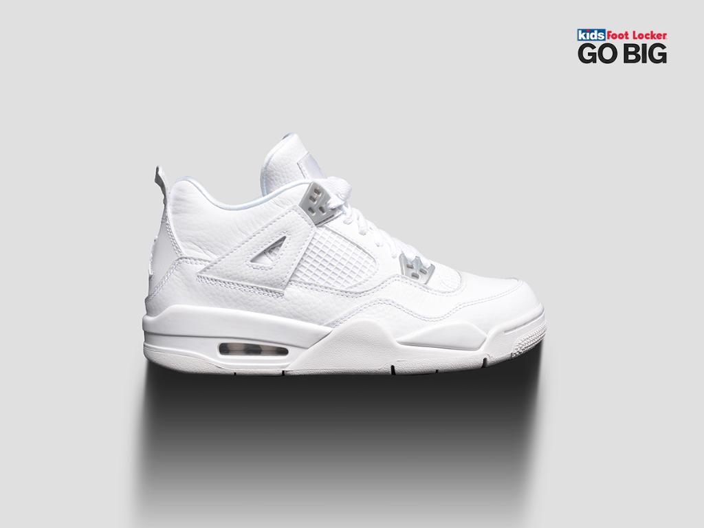 footlocker air jordan 4 pure money