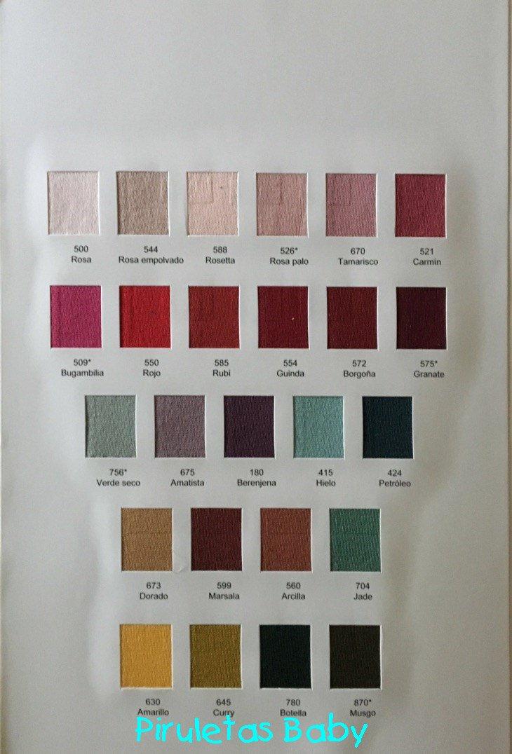 Piruletas baby on twitter nueva carta de colores for Colores condor