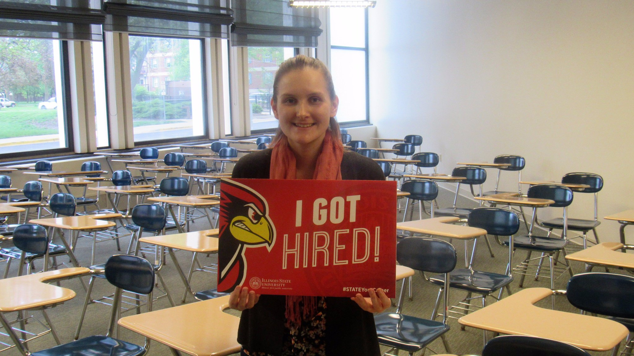 Michelle, a GA in the Visor Center will be moving across campus and joining our Advisement staff in University College! #StateYourCareer https://t.co/p8pwE4jTYt