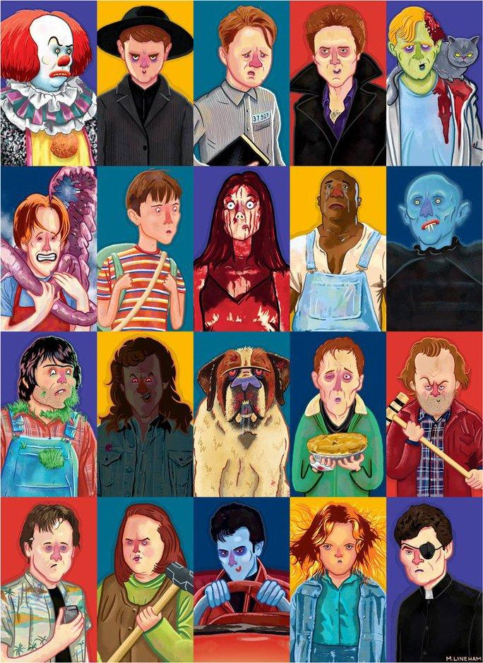 "Broke Horror Fan on Twitter: ""Original artwork & prints from  @Galleries1988's Stephen King tribute art show are now online:  https://t.co/u6HUaXtF9m… https://t.co/q3ysReQSrI"""