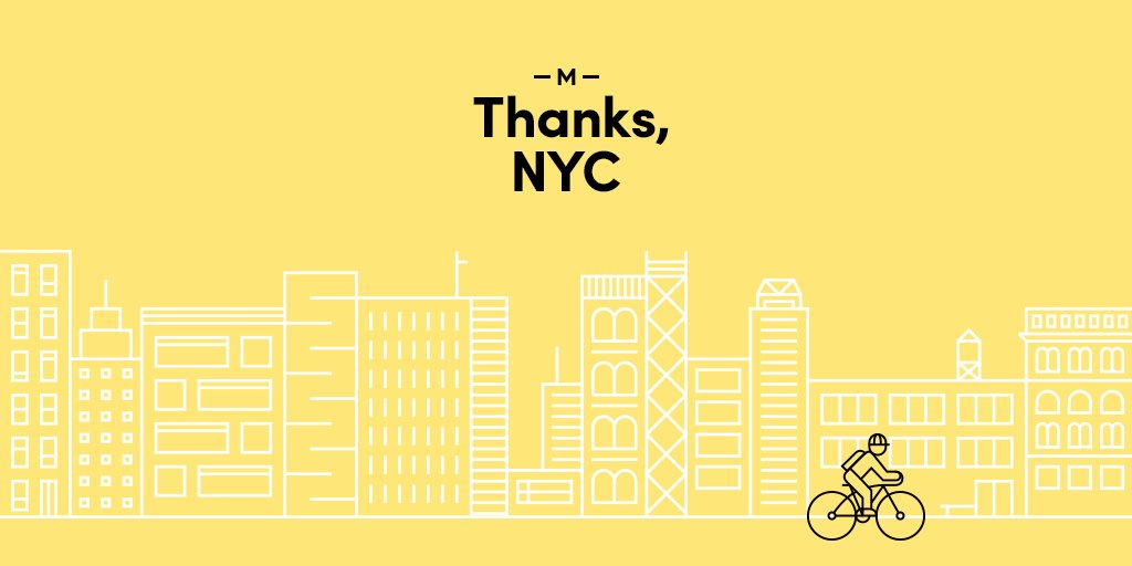 After 2 years of serving NYC, we've closed our doors.  It's been an honor, thank you for the support.  More info at https://t.co/6OdDagxnDu. https://t.co/IVNS1arVHC