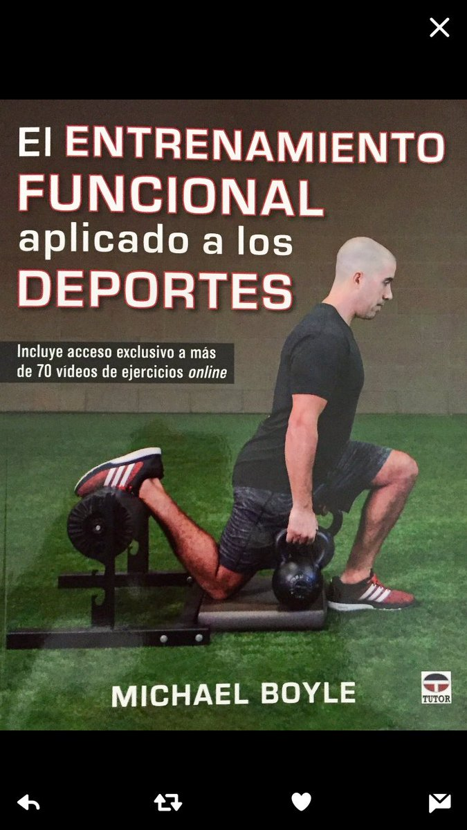 "Michael Boyle on Twitter: ""New Functional Training for Sports is now in  Spanish ( this is my first book ever in Spanish) !… """